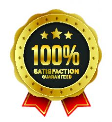 100% guarantee badge label collection